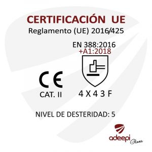 GUANTE DE SEGURIDAD ANTICORTE ADEEPI GLOVES GAF-560
