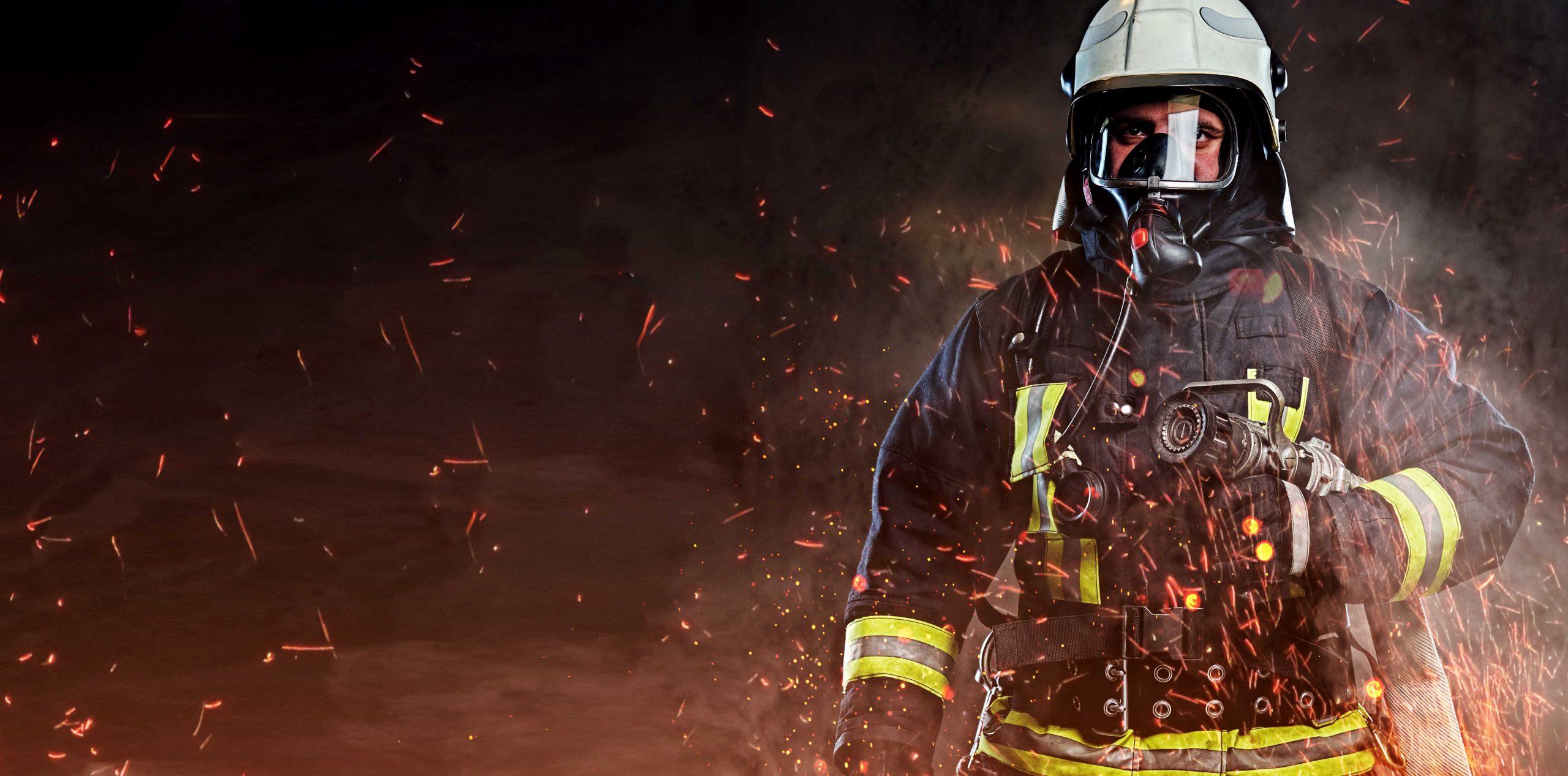 Protección contra el fuego y la soldadura