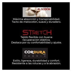 CAZADORA DE PROTECCIÓN FORTE ALGODÓN STRETCH ADEEPI. 319-COX-28