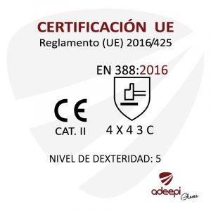 GUANTE DE SEGURIDAD SINTETICO ADEEPI GLOVES GA15FO-450