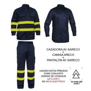 PANTALÓN IGNÍFUGO AV SARECO (527AV-CFR-30)